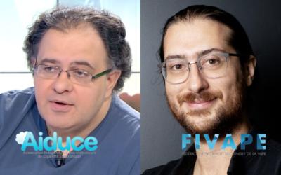 Quel avenir pour la vape ? Interview croisée Claude Bamberger (AIDUCE) et Jean Moiroud (FIVAPE).