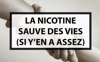 Nouvelle étude : un taux de nicotine élevé dans la vape soulage mieux pour faciliter l'arrêt du tabagisme