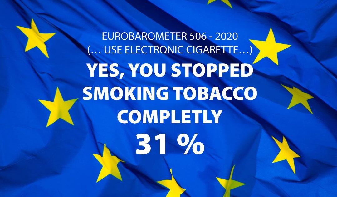 Eurobarometre la vape pour arrêter de fumer