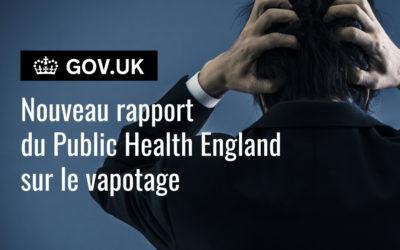 Lutte contre le tabagisme : le vapotage est plus efficace que les substituts nicotiniques