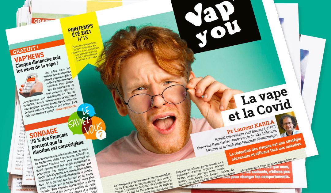 Magazine VAPYOU N°13 en pré-commande