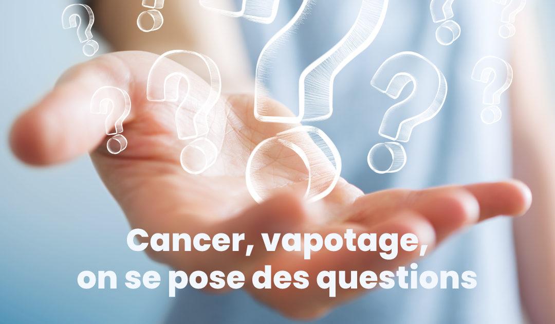 Vapotage et lutte contre le cancer